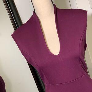 FASHION-NOVA Purple BodyCon Dress